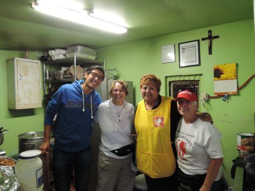 Alfonso, Samaritan Tracy, Lorena, and Samaritan Linda