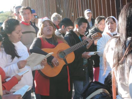 Songs of injustice at the wall