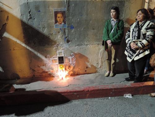 Vigil in Mexico for Jose Antonio, March 10, 2013
