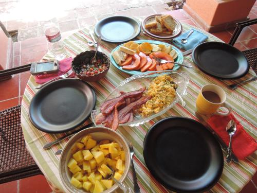 An Easter breakfast