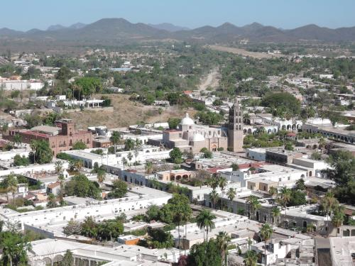 Mountain top view of Alamos