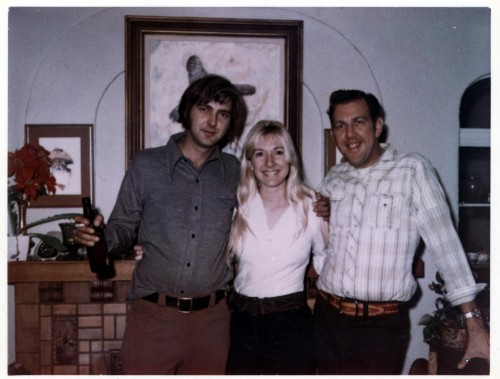 Chuck, Peg and George in 1967