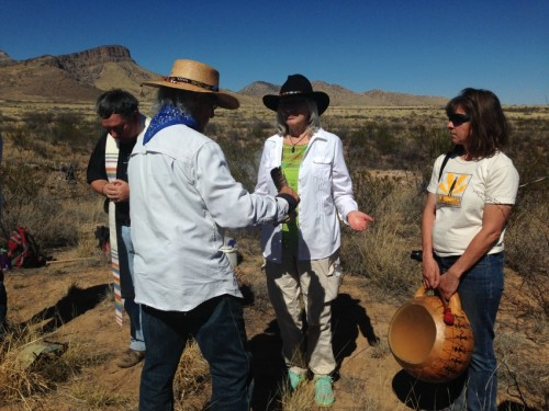 Smudging for purification, the Yaqui way
